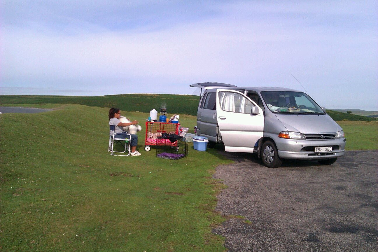 Breakfast on Dartmoor